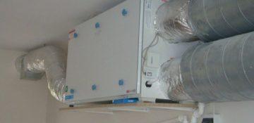 Rekuperator montaż na ścianie