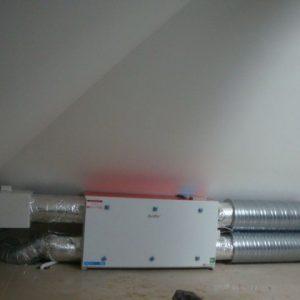 Montaż centrali wentylacyjnen